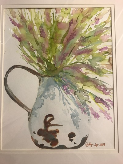 Wine & Watercolor 5/25 Image