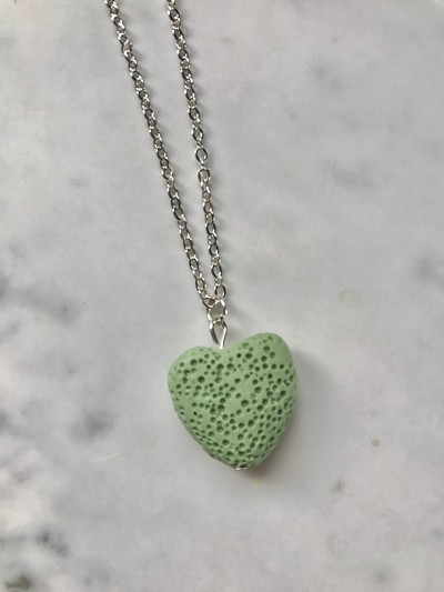 Aromatherapy Heart Necklace