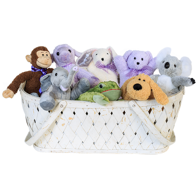 White Oak Lavender Farm Products Stuffed Animal Dog